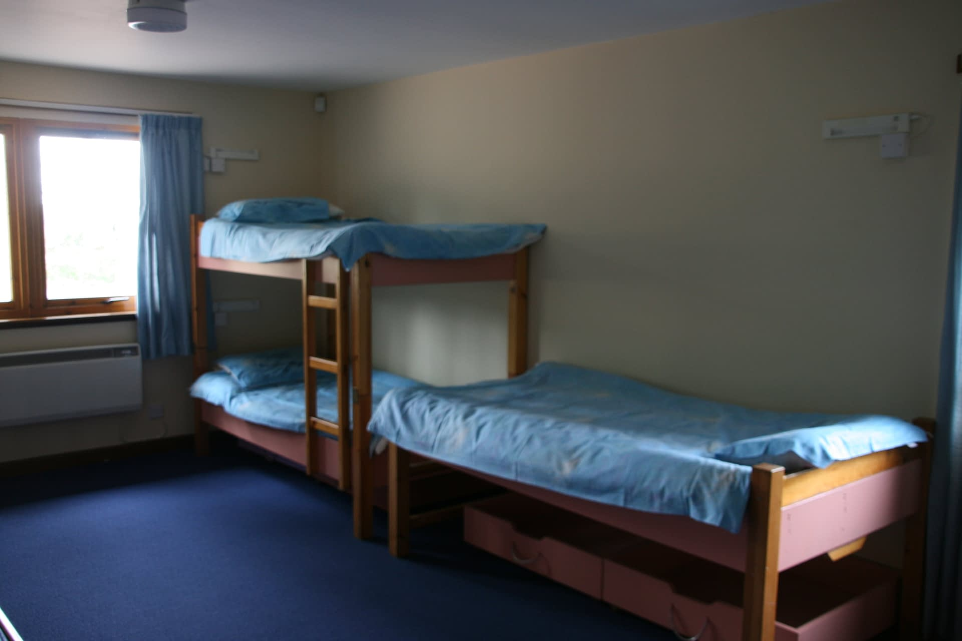 Forth Lodge bedrooms at Bonaly