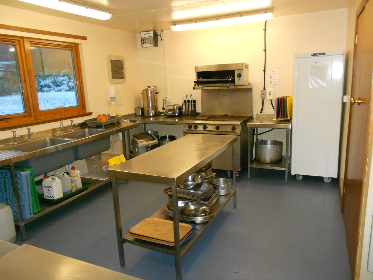 Forth Lodge kitchen at Bonaly