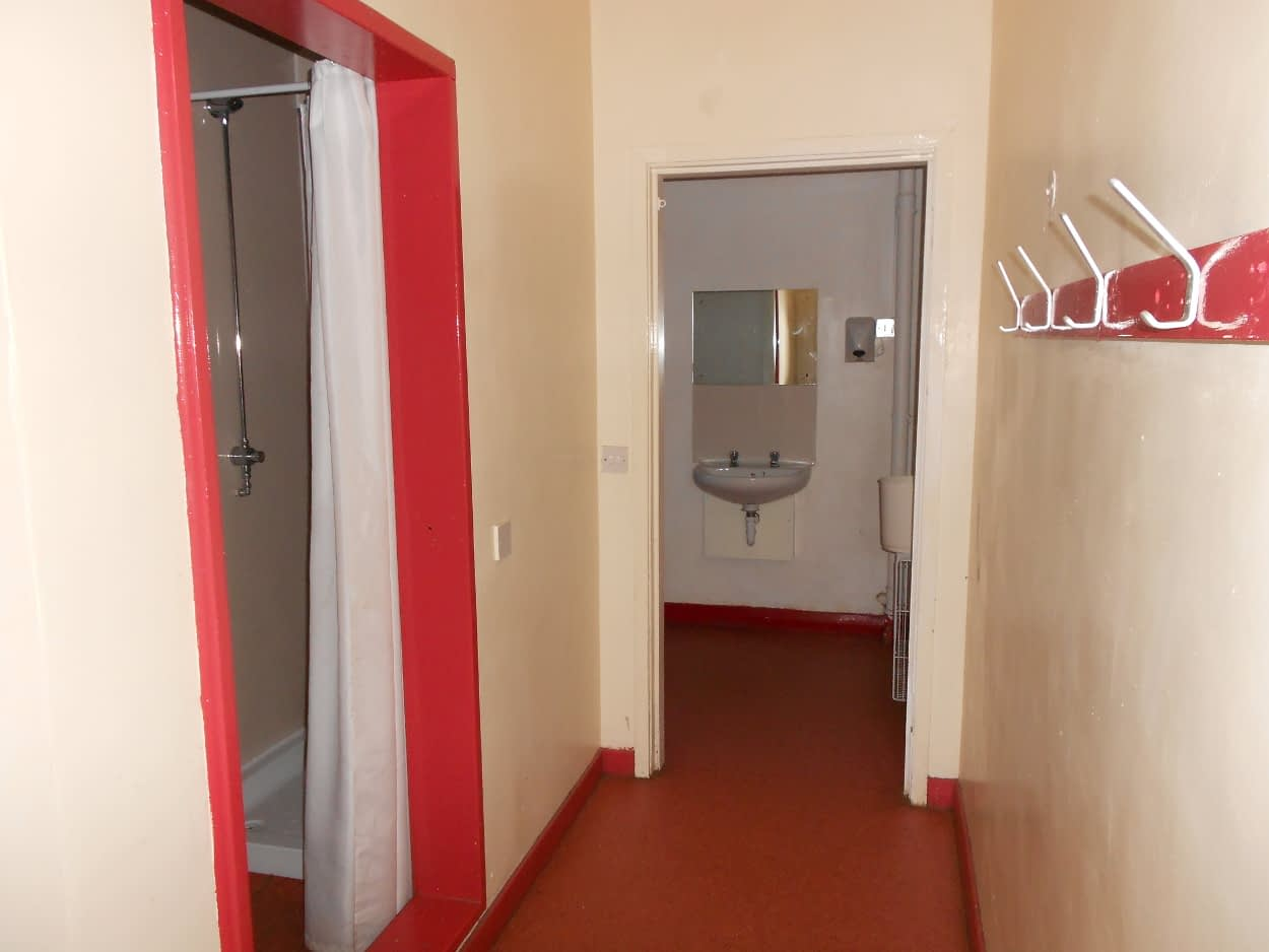 Chalet toilets at Bonaly
