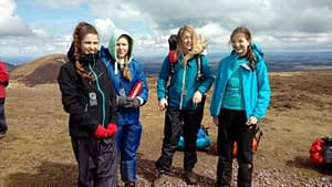 Explorers on DofE expedition