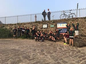 North Berwick Cubs on the Beach