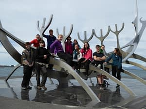 The Wildfire Explorer Scout Unit in Reykjavik