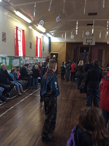 The Scout Troop at Newtongrange
