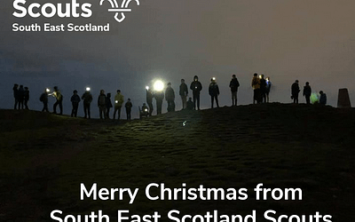 Christmas Thanks from South East Scotland Scouts