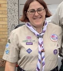 Laura Gilman – new Assistant Regional Commissioner Scout Network