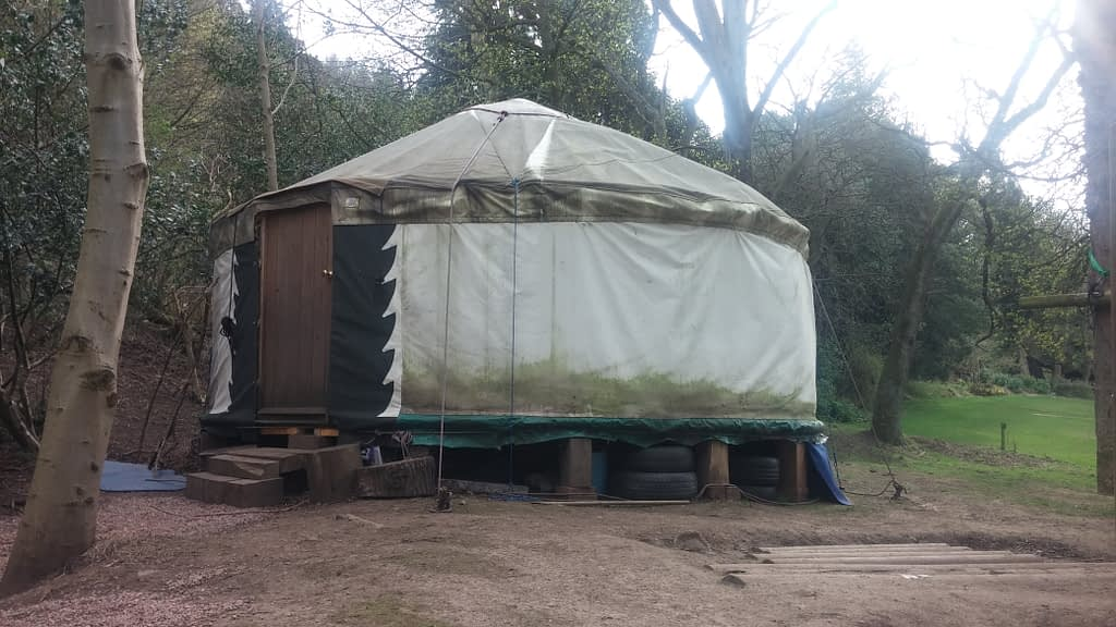The yurt used by the Cowgate Under 5s
