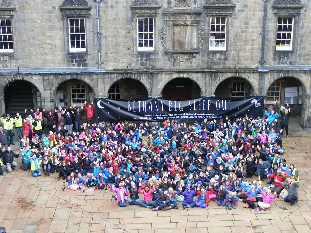 Sleepout 2016 - Daytime