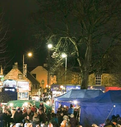 Davidson Mains Christmas Lights Switch On