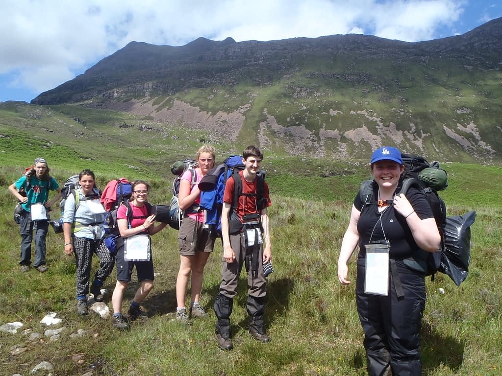 Explorer on DofE Gold hike