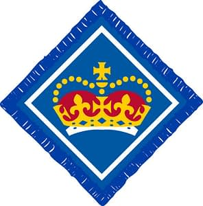 Queen's Scout Award badge