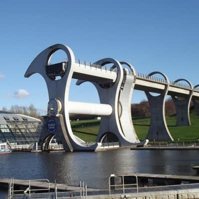 Abseil Falkirk Wheel and raise funds